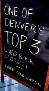 Printed Page Bookshop One of Denver's Top 3 Used Book Stores